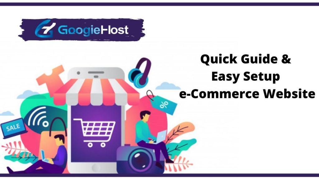 Quick & Easy Setup e-Commerce Website