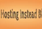 Free Hosting instead of Blogger