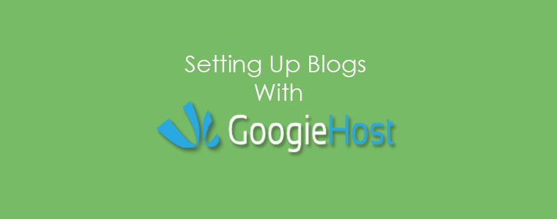 Blog Setup With Free Hosting