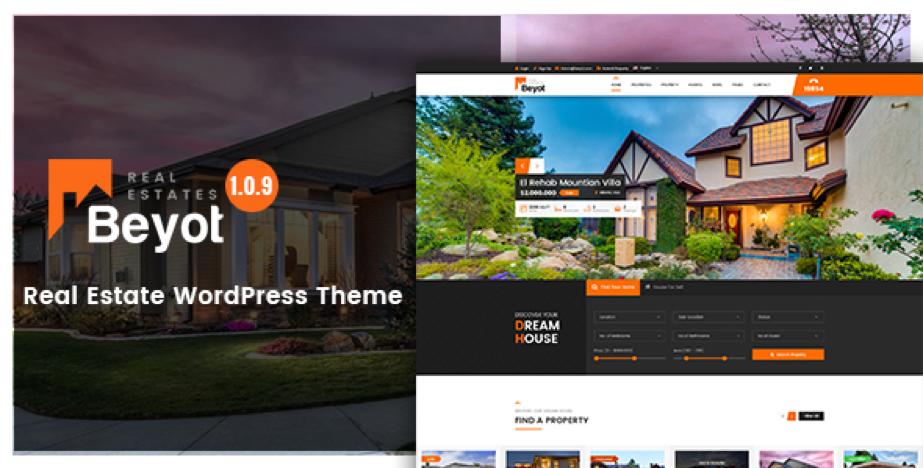 WordPress Real Estate Beyot Theme