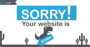 Why your website is always is down on free hosting