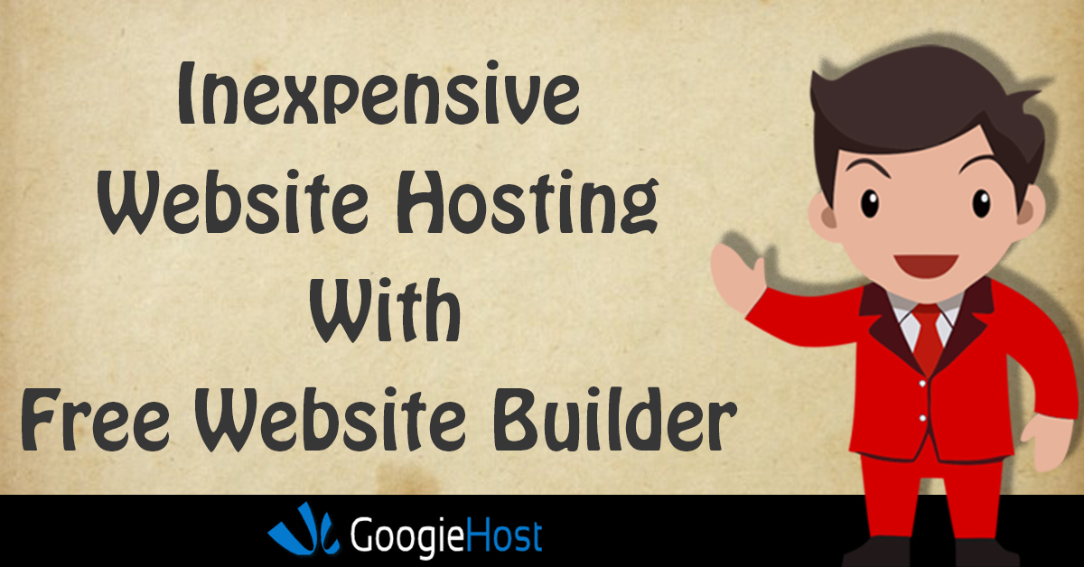Top 5 inexpensive website hosting with Free Website Builder