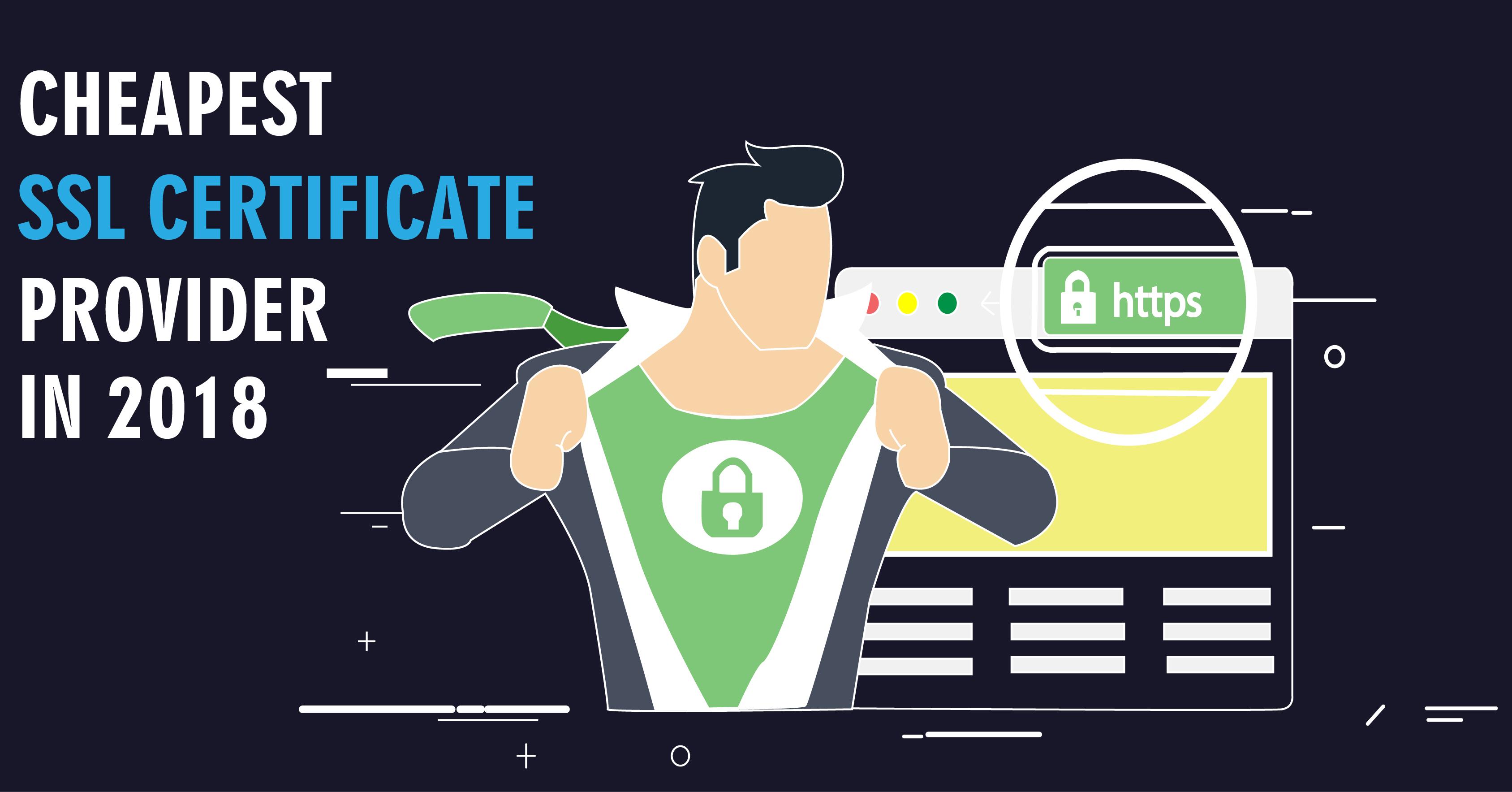 cheapest ssl certificate providers