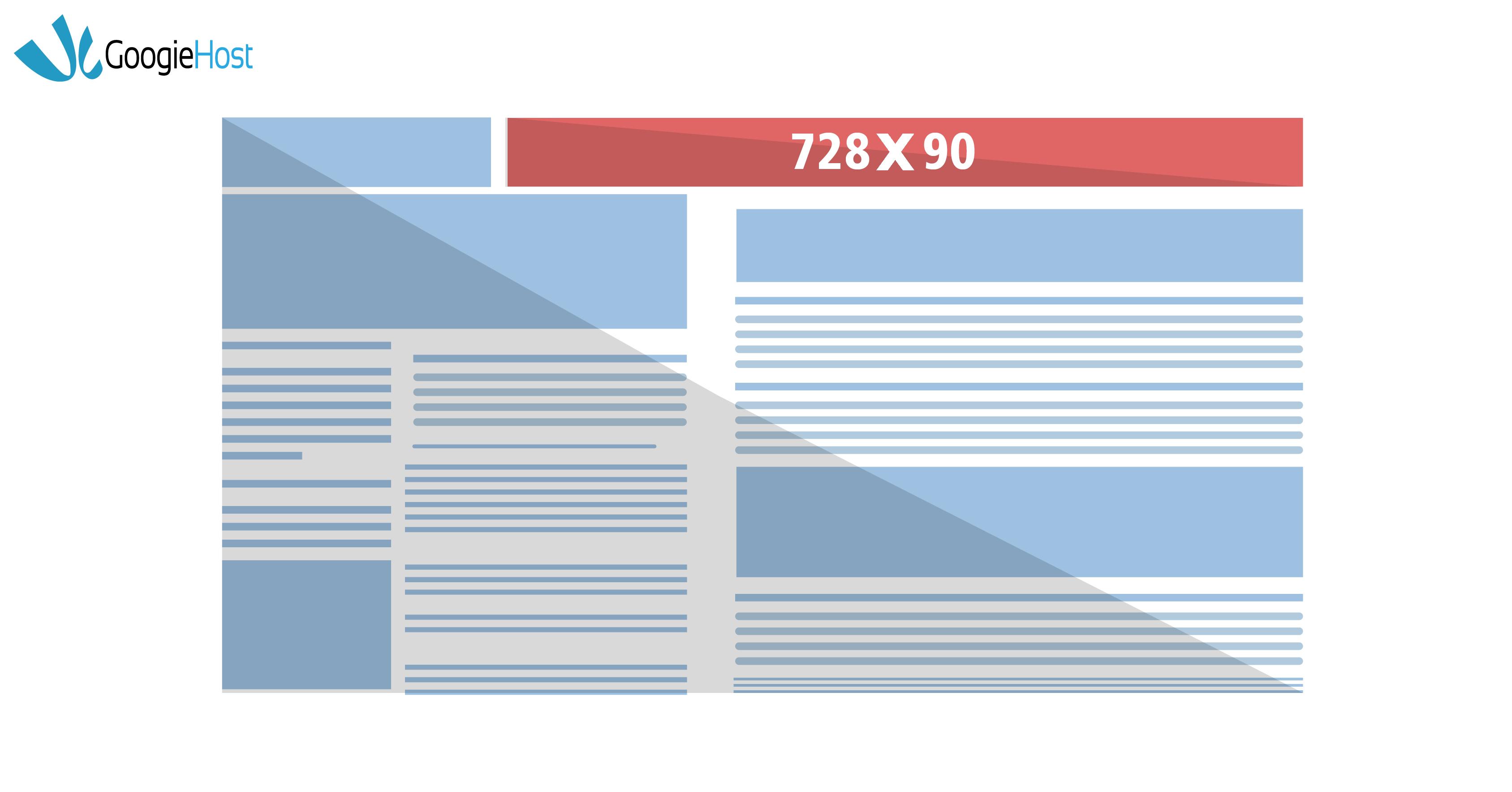 Google ad sizes 728x90
