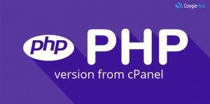 change PHP Version