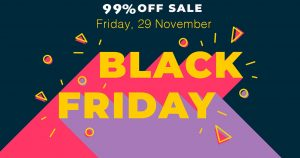 Black Friday Web Hosting Deals 2019 | 99% OFF on Cyber Monday
