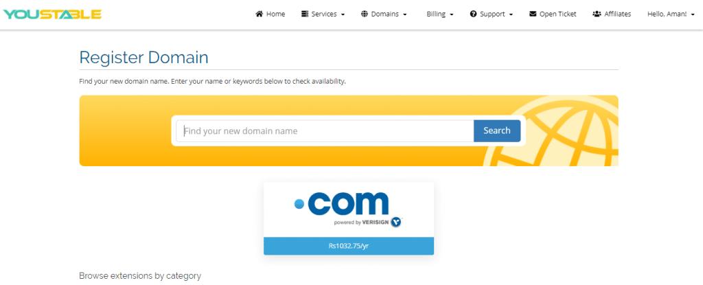 cheap domain name