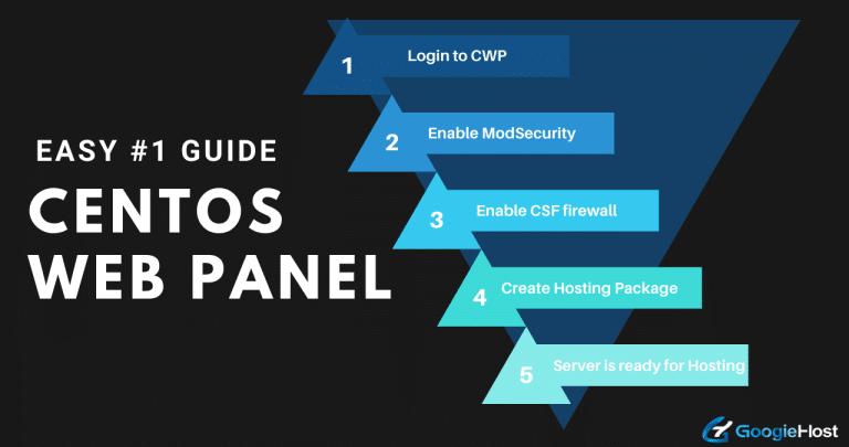 Install and Configure CentOS Web Panel