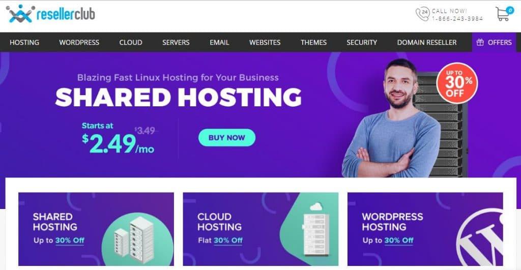 ResellerClub Review & Black Friday Web Hosting Deals (Nov 2019)