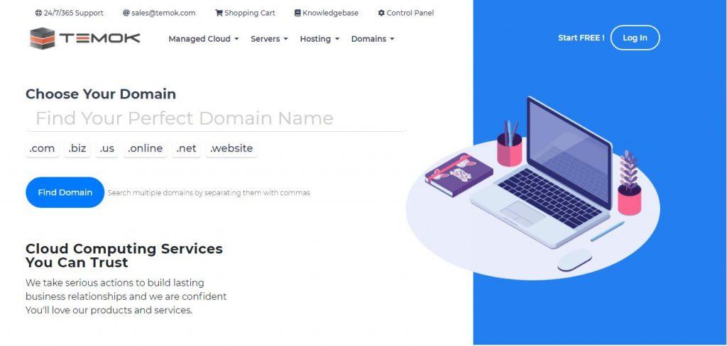 Temok Domain name Registration