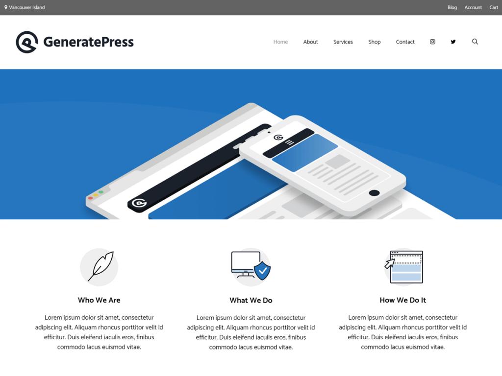 TOP 5 Best Free WordPress Theme 2020 { GeneratePress Added}