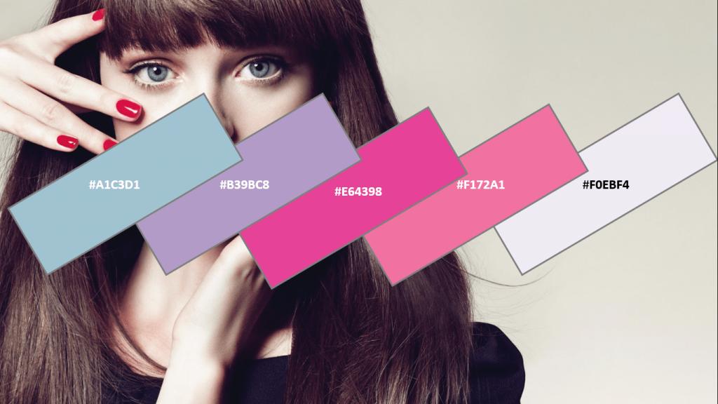 fashion website color