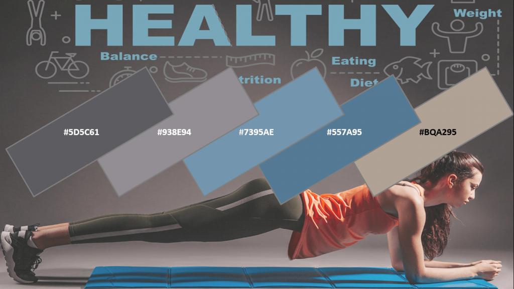 health website color
