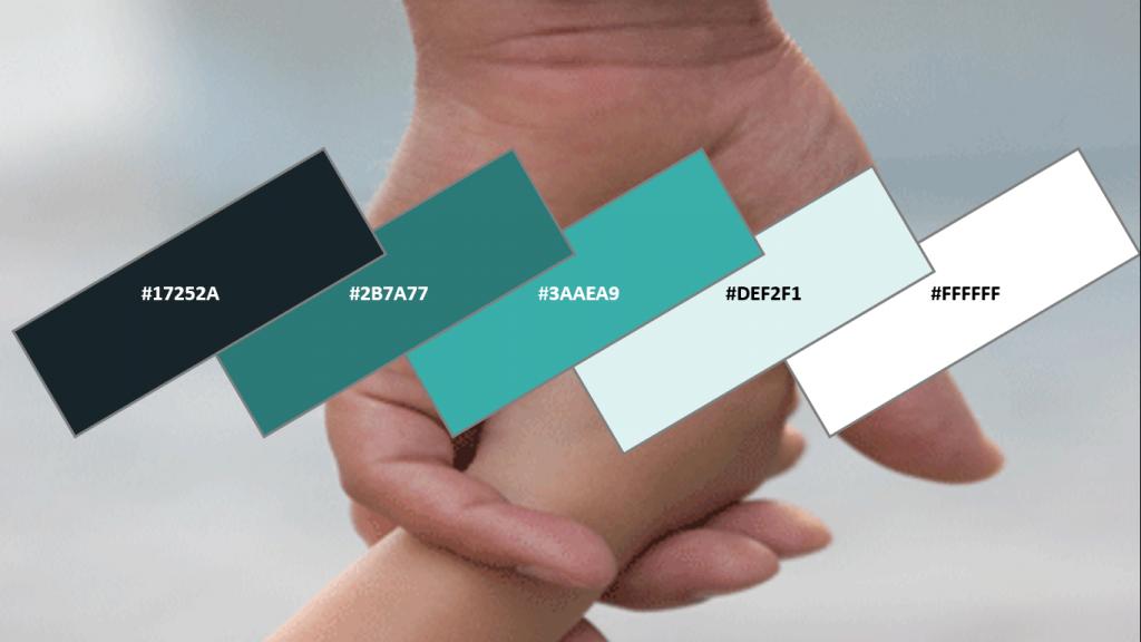 Website Color Combination for Parenting Websites