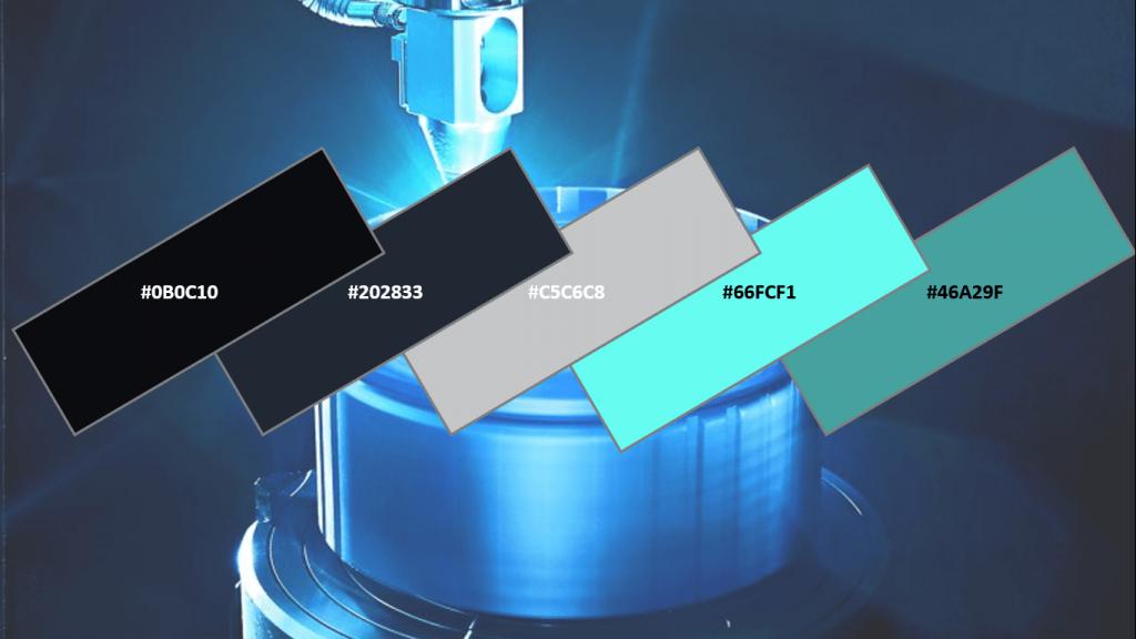 tech website colour