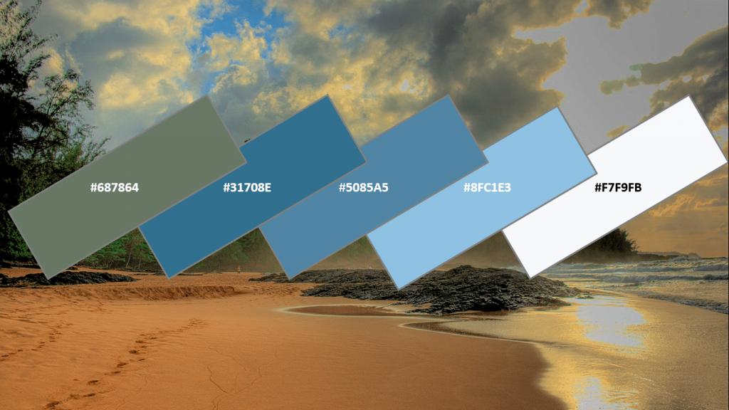 website color for travel