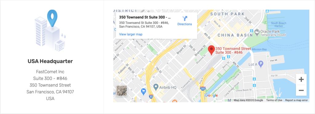 fastcomet address