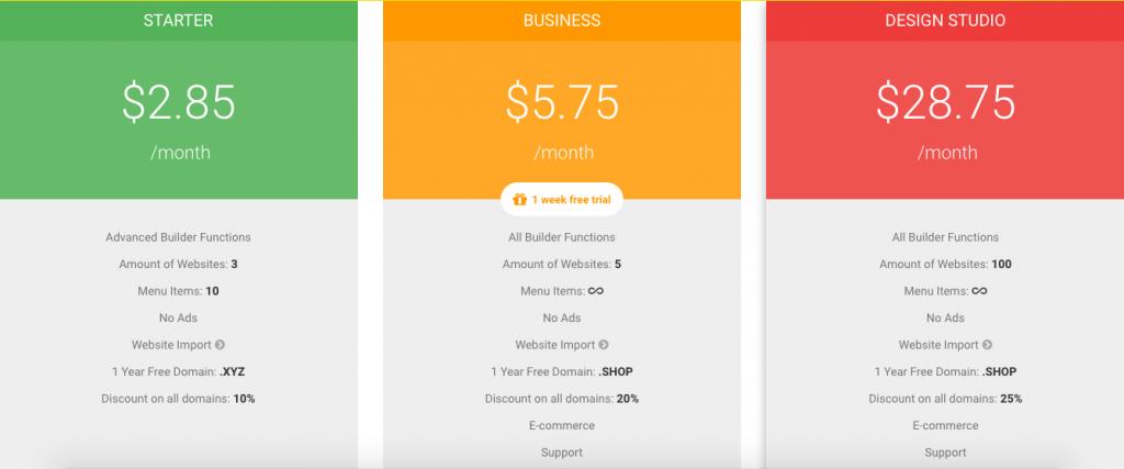 Site.pro Pricing