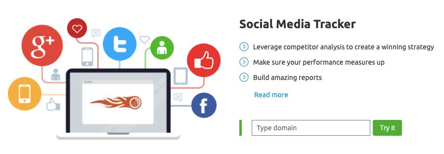 Integrates Social media Marketing with SEO