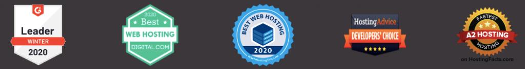 a2hosting awards