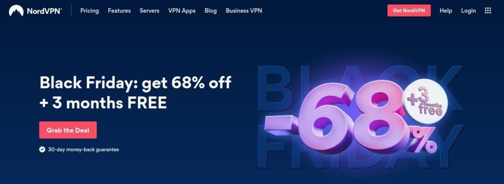 nord VPN Black Friday Deals 2020
