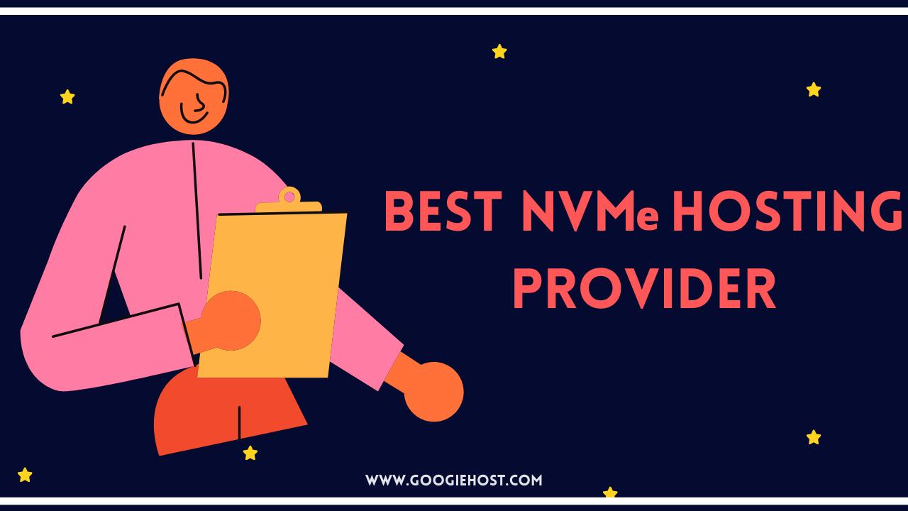 Best NVMe hosting provider