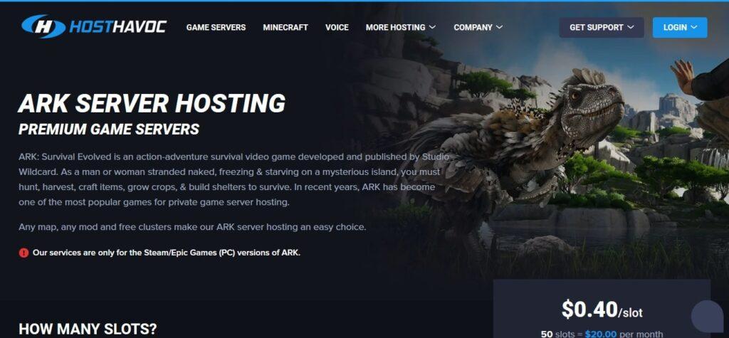 Host Havoc ARK Server Hosting GoogieHost