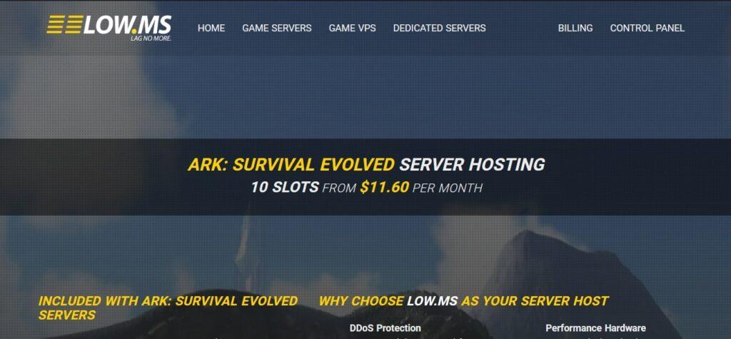 LOW MS ARK Server Hosting GoogieHost