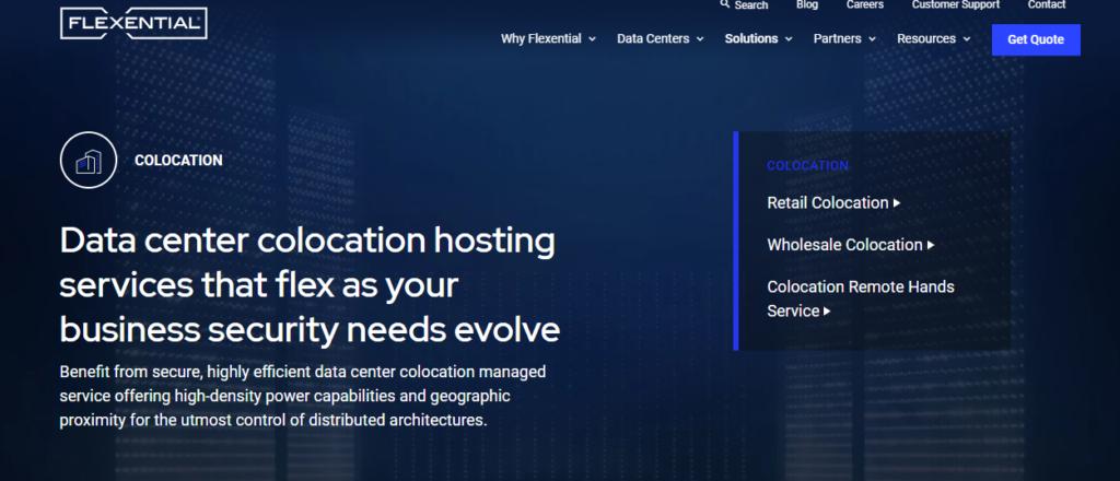 Flexential Colocation hosting