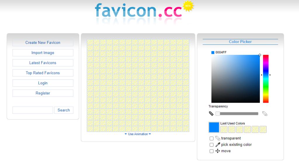 Favicon.cc Free favicon generator