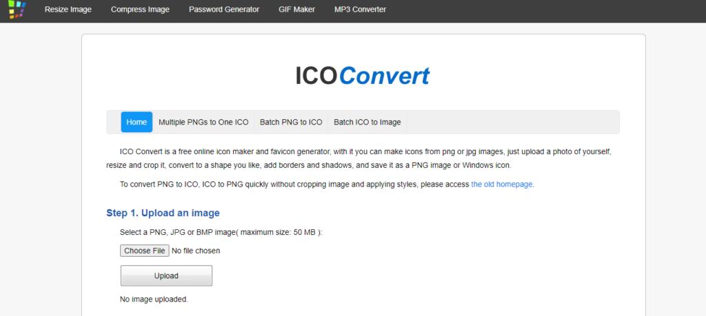 IcoConverter Free Favicon generator