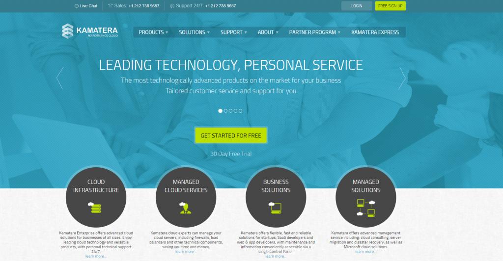 Kamatera best VPS hosting