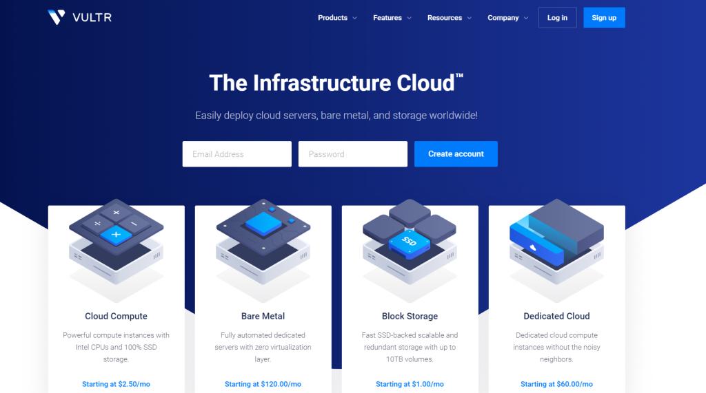Vultr Best vps hosting