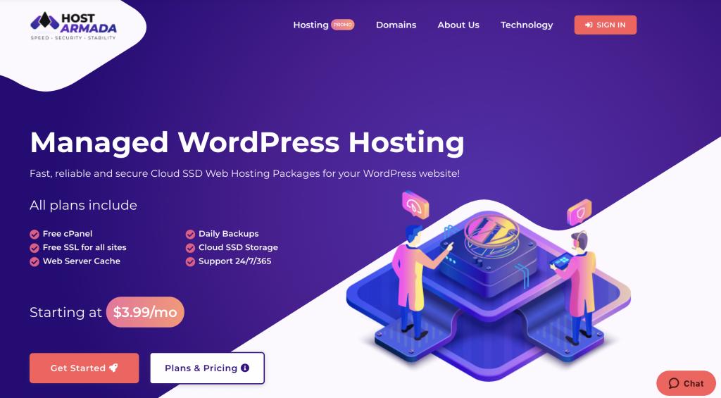 Hostarmada Email Hosting providers for small Business