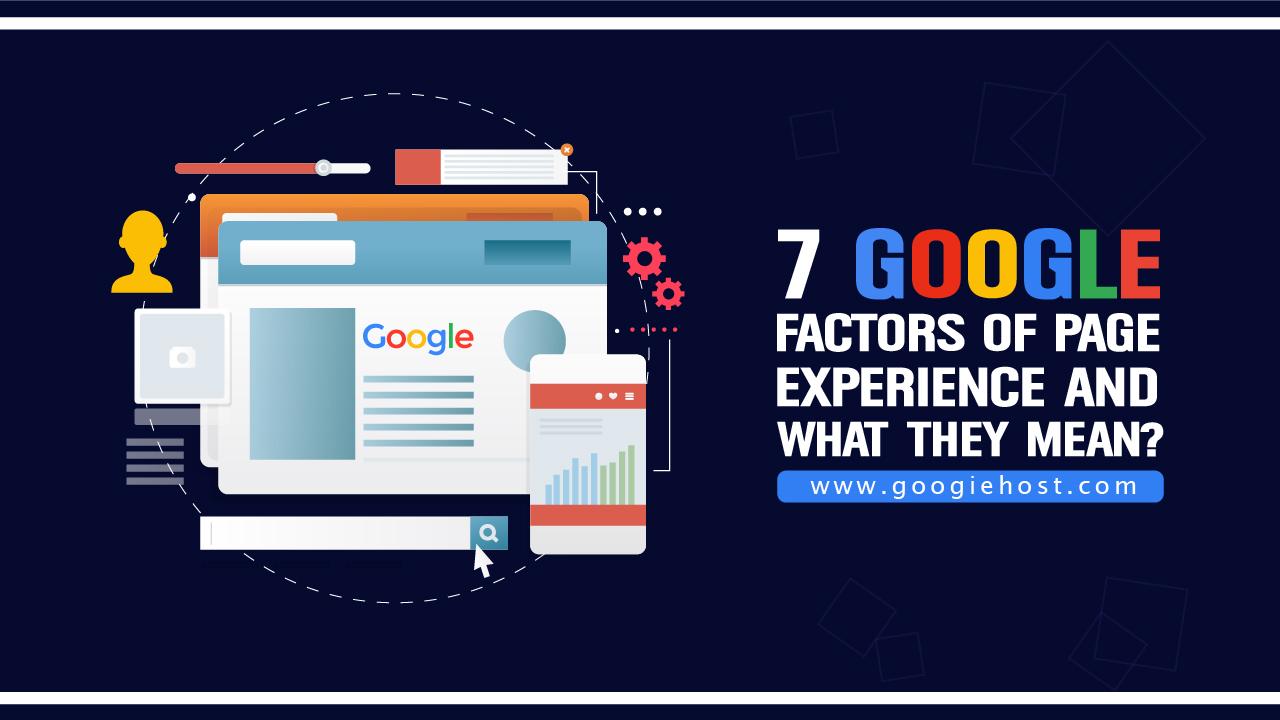 Google Factors page Experiemce
