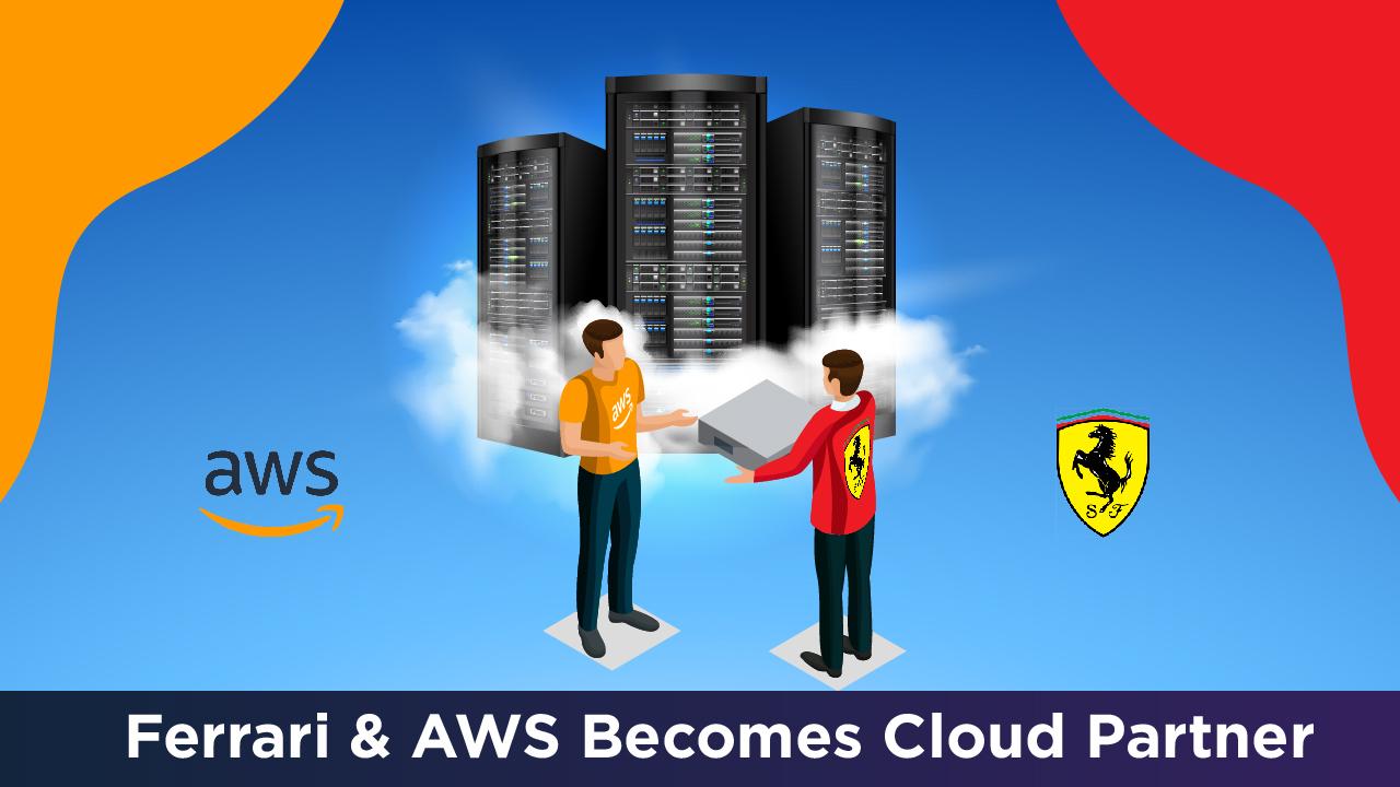 Ferrari & AWS Becomes Official Cloud Partner.