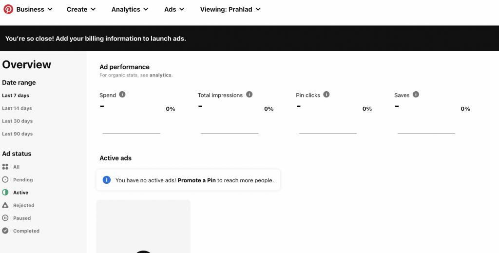 Pinterest Ads best PPC Ad Network
