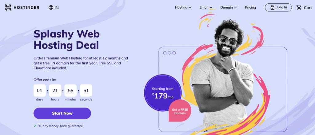 Hostinger Best Unlimited Web Hosting Plans