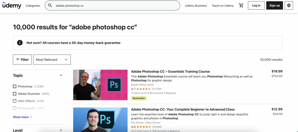Adobe Photoshop CC - Advanced Training Course The Web Developer Bootcamp 2021