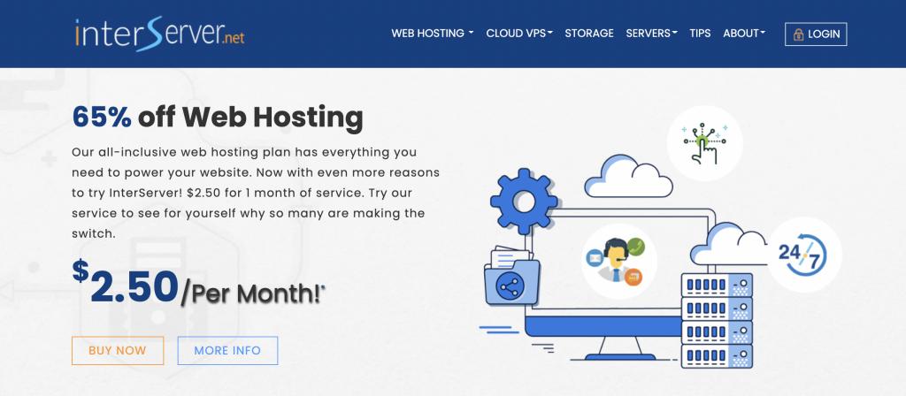 Interserver Best managed Web Hosting