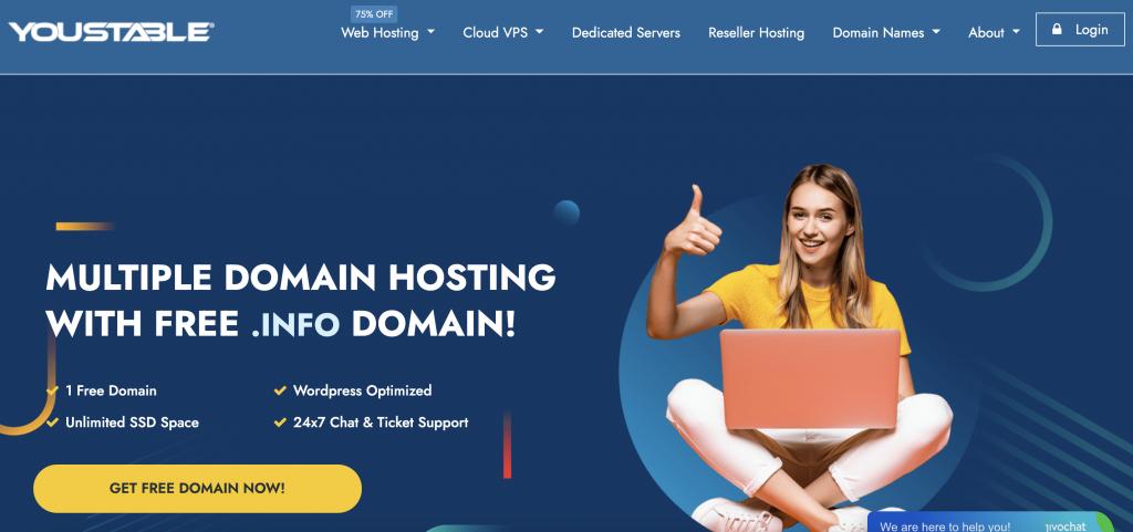 Youstable Best Cheap Web Hosting Provider