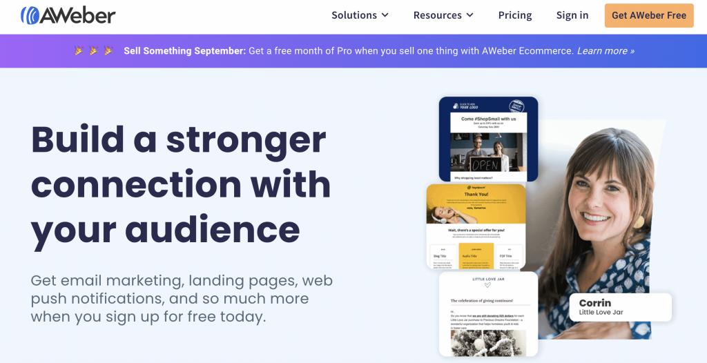 AWeber  Best Email Marketing Service