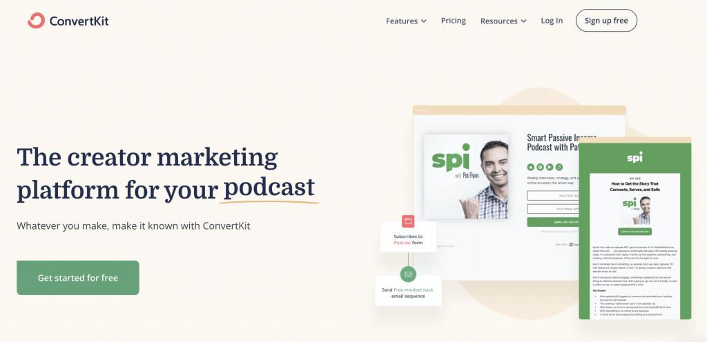 ConvertKit Best Email Marketing Software