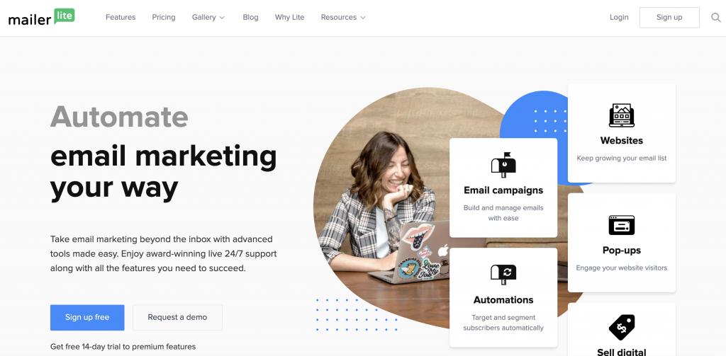 MailerLite best Email Marketing Software