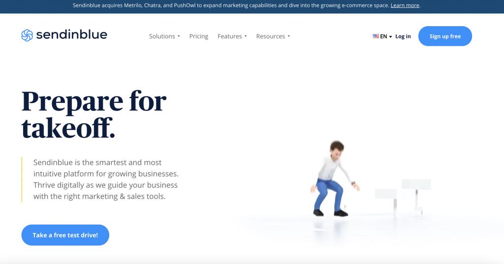 Sendinblue Best Email marketing Software